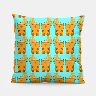 Thumbnail image of Cats love Pillow, Live Heroes