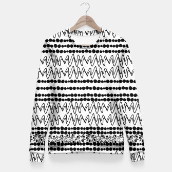 Thumbnail image of Lines  Fitted Waist Sweater, Live Heroes