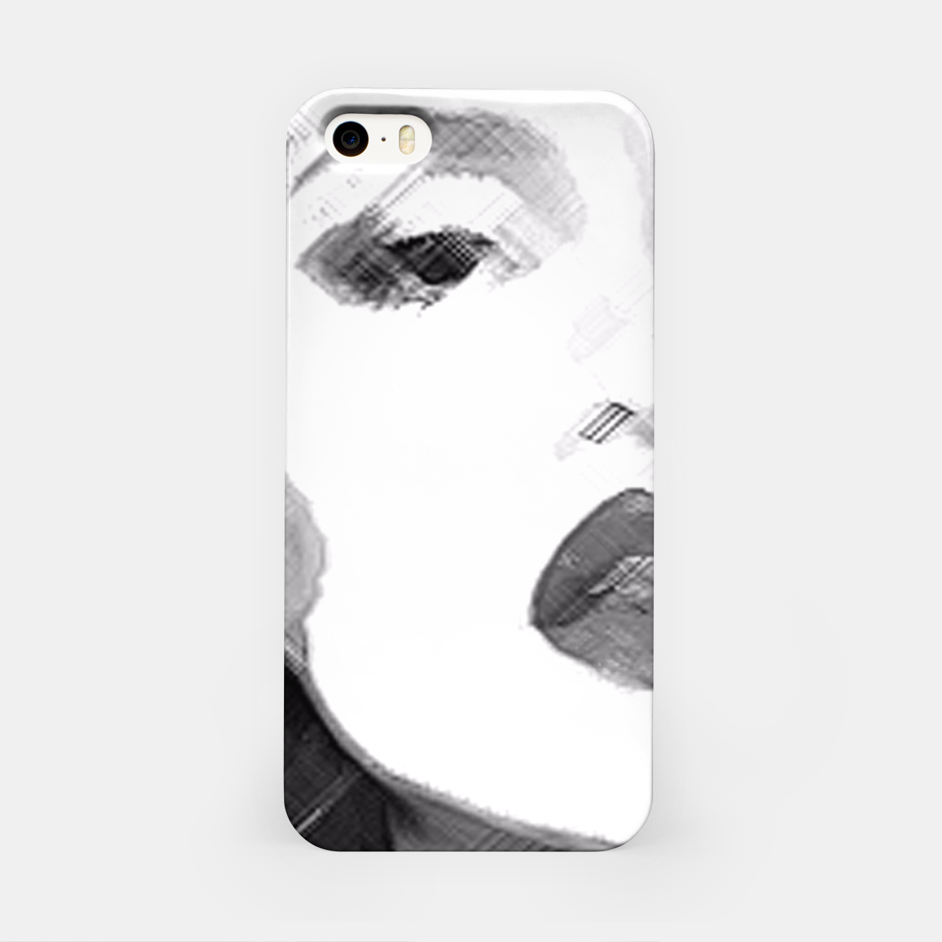 Image of Half & Half iPhone Case - Live Heroes