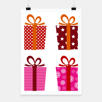 Miniature de image de Poster with colorful Magical Gifts Retro, Live Heroes