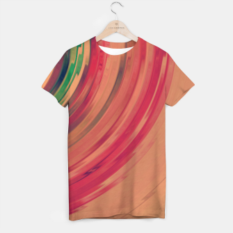 Thumbnail image of Sunset Colour Swirl T-shirt, Live Heroes