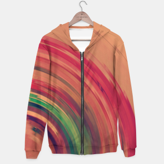 Thumbnail image of Sunset Colour Swirl Hoodie, Live Heroes