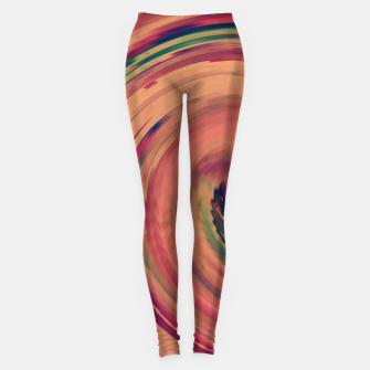 Miniature de image de Sunset Colour Swirl Leggings, Live Heroes