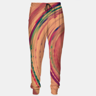 Thumbnail image of Sunset Colour Swirl Sweatpants, Live Heroes