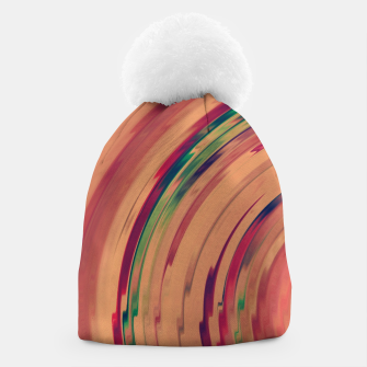 Thumbnail image of Sunset Colour Swirl Beanie, Live Heroes