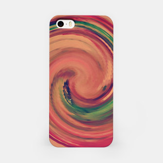 Thumbnail image of Sunset Colour Swirl iPhone Case, Live Heroes