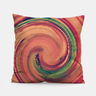 Thumbnail image of Sunset Colour Swirl Pillow, Live Heroes