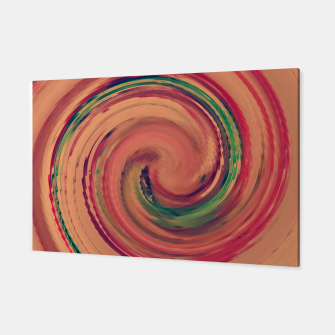 Thumbnail image of Sunset Colour Swirl Canvas, Live Heroes
