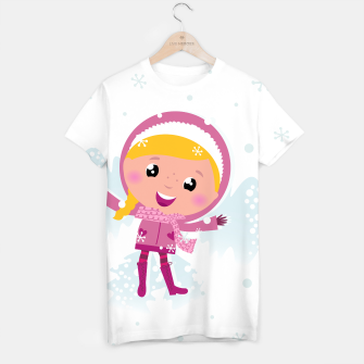 Thumbnail image of Creative T-Shirt with Angel blondhair Girl, Live Heroes