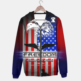 Thumbnail image of Freedom Is More Than A Word EW Hoodie, Live Heroes