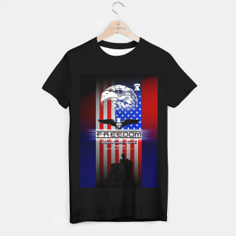 Thumbnail image of Freedom Is More Than A Word EW T-shirt regular, Live Heroes