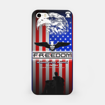 Thumbnail image of Freedom Is More Than A Word EW iPhone Case, Live Heroes