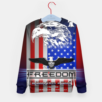 Thumbnail image of Freedom Is More Than A Word EW Kid's Sweater, Live Heroes