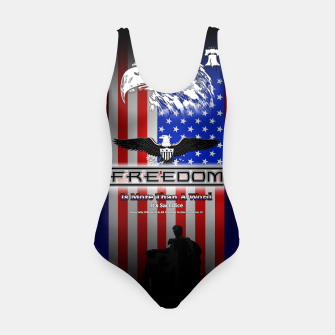 Thumbnail image of Freedom Is More Than A Word EW Swimsuit, Live Heroes