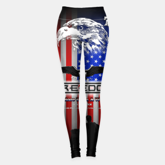 Thumbnail image of Freedom Is More Than A Word EW Leggings, Live Heroes