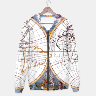 Thumbnail image of A New Map Of The Terraqueous Globe Hoodie, Live Heroes