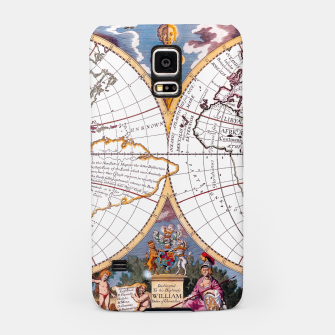 Thumbnail image of A New Map Of The Terraqueous Globe Samsung Case, Live Heroes