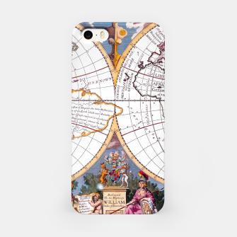 Thumbnail image of A New Map Of The Terraqueous Globe iPhone Case, Live Heroes