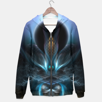 Thumbnail image of Penapia Mystical Ethereal Moon Glow Fractal Art Composition Hoodie, Live Heroes
