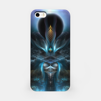 Thumbnail image of Penapia Mystical Ethereal Moon Glow Fractal Art Composition iPhone Case, Live Heroes