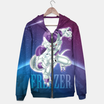 Thumbnail image of Dragon Ball Freezer Hoodie, Live Heroes