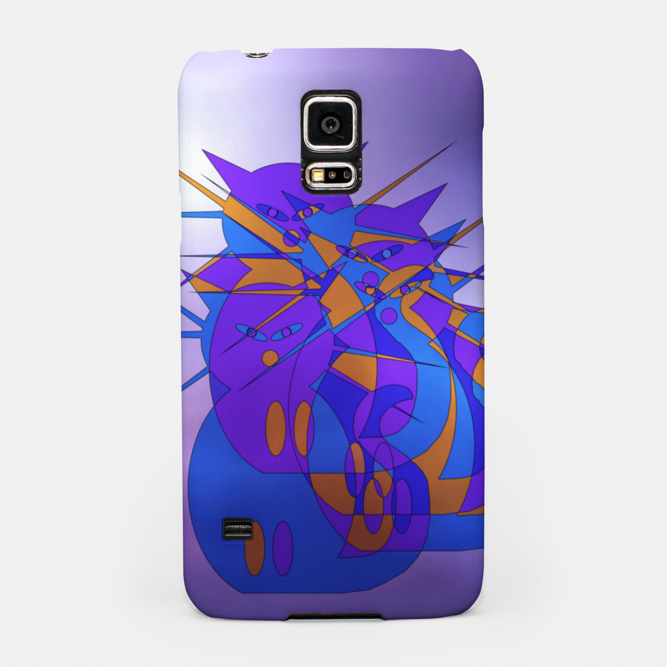 Image of cats trio Samsung Case - Live Heroes