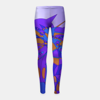Thumbnail image of cats trio Girl's Leggings, Live Heroes