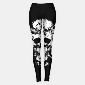 Thumbnail image of Thug Life Leggings, Live Heroes
