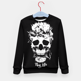 Thumbnail image of Thug Life Kid's Sweater, Live Heroes