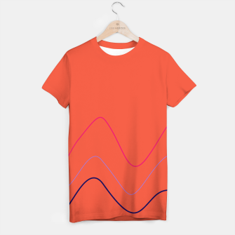 Thumbnail image of DESIGNERS T-SHIRT : DESSERT WAVES. Luxury collection. , Live Heroes