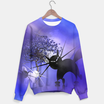 Thumbnail image of mooncat's foggy night Sweater, Live Heroes