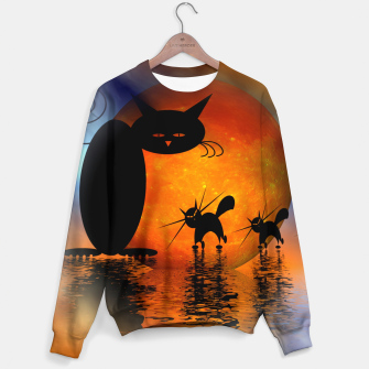 Thumbnail image of mooncat's catwalk Sweater, Live Heroes
