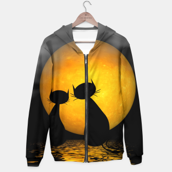 mooncat's evening Hoodie thumbnail image