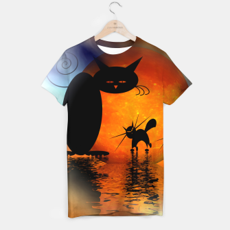 Thumbnail image of mooncat's catwalk T-shirt, Live Heroes