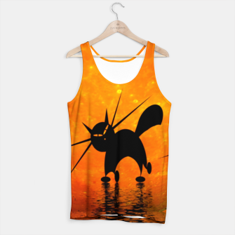 Thumbnail image of mooncat's catwalk Tank Top, Live Heroes