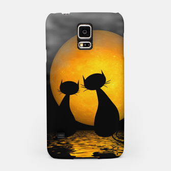 Thumbnail image of mooncat's evening Samsung Case, Live Heroes