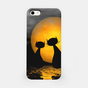 mooncat's evening iPhone Case thumbnail image