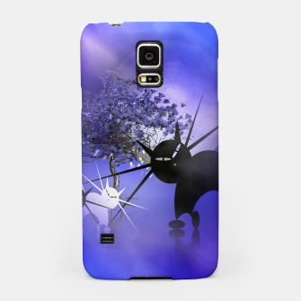 Thumbnail image of mooncat's foggy night Samsung Case, Live Heroes