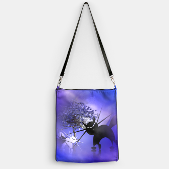 Thumbnail image of mooncat's foggy night Handbag, Live Heroes