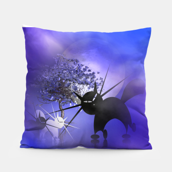Thumbnail image of mooncat's foggy night Pillow, Live Heroes