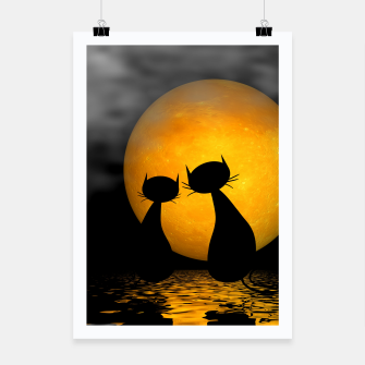 mooncat's evening Poster thumbnail image