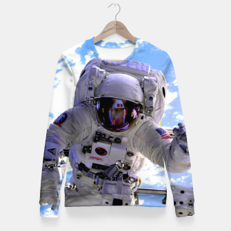 Thumbnail image of ASTRONAUT EVA Fitted Waist Sweater, Live Heroes