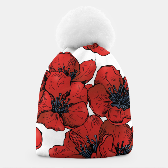 Thumbnail image of Poppies Beanie, Live Heroes