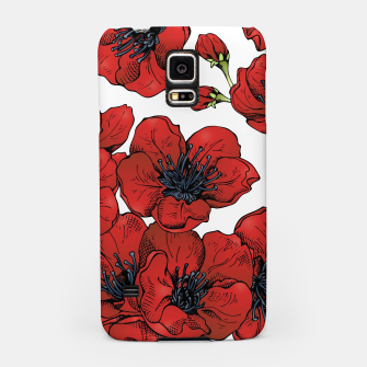 Thumbnail image of Poppies Samsung Case, Live Heroes