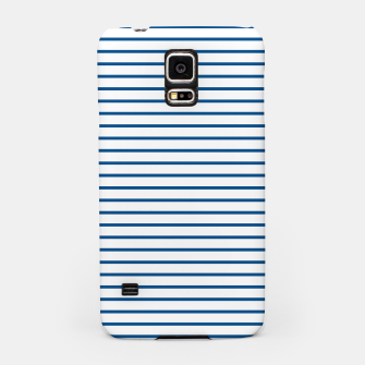 Thumbnail image of Blue Summer lines Samsung Case, Live Heroes