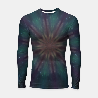 Thumbnail image of Green magic Longsleeve Rashguard , Live Heroes