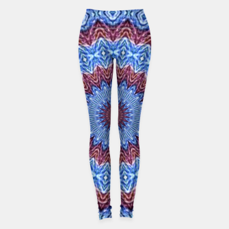Thumbnail image of Blue mandala Leggings, Live Heroes