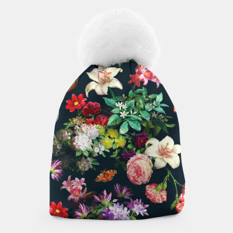 Thumbnail image of Flowery pattern Beanie, Live Heroes