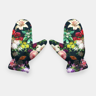 Thumbnail image of Flowery pattern Gloves, Live Heroes