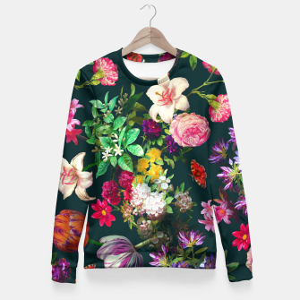Thumbnail image of Flower Garden Fitted Waist Sweater, Live Heroes
